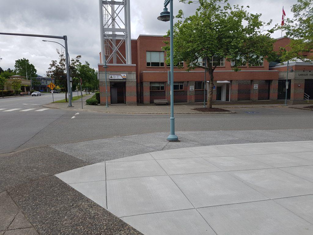 of RCMP Rainbow Sidewalk