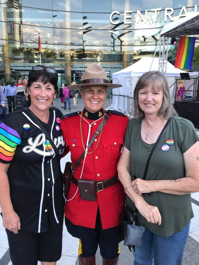 Surrey Pride 2019 with the RCMP